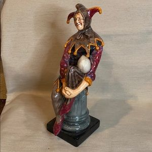 🥀Vintage The Jester Royal Doulton